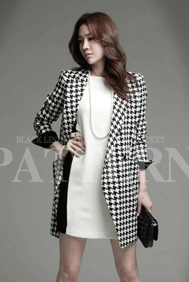 COAT KOREA - Autumn Woolen Coat