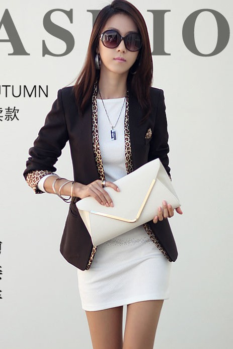 BLAZER WANITA KOREA - Black Woman Blazer