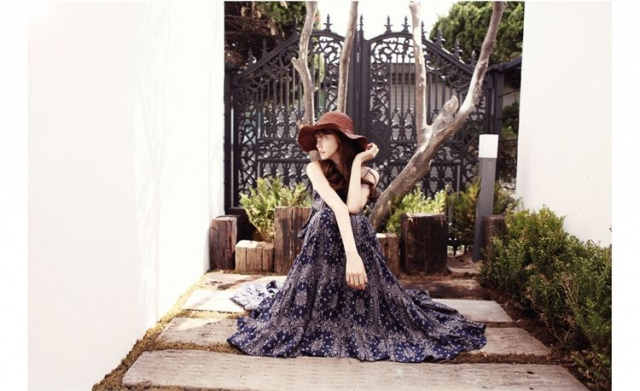 LONG DRESS KOREA - Cotton MAxi Dress