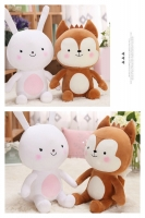 1SET (2PCS) BONEKA HAYANG & NEUKKUN DESCENDANTS OF THE SUN DOTS