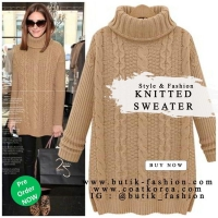 SWEATER RAJUT BIG SIZE 4 WARNA - KNITTED SWEATER