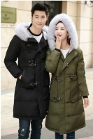 (BLACK-1Pc) JAKET BULU UNISEX - JAKET COUPLE