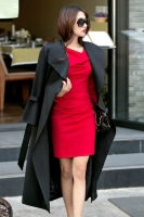 LONG BLAZER WANITA KOREA - Black Long Blazer