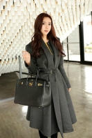 LONG COAT WANITA KOREA - Korean Trendy Coat