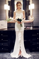 LONG DRESS PESTA - White Elegant Dress