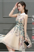DRESS CHIFFON CANTIK - Floral Chiffon Dress
