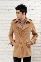 JAKET KOREA PRIA - LightTan Big Size Men Coat