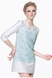 DRESS CANTIK KOREA - Fresh Satin Dress