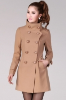 BAJU MUSIM DINGIN - LightTan Winter Long Coat