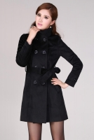 JAKET MUSIM DINGIN - Black Women Coat