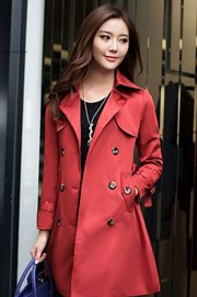 BLAZER WANITA KOREA - Red Woman Blazer