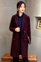 COAT IMPORT KOREA - Purple Premium Long