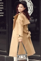 JAKET IMPORT KOREA - Khaki KOREAN LONG COAT