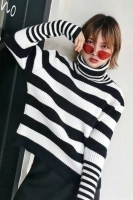 SWEATER RAJUT TURTLENECK  - Sweater Wool Import Bigsize