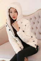 JAKET WANITA KOREA BIG SIZE - White Korean Jacket