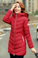 JAKET BIG SIZE KOREA - Red Padded Jacket