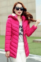 JAKET BIG SIZE KOREA - Rose Padded Jacket