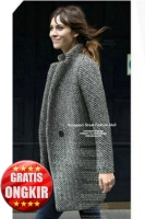 COAT IMPORT WANITA KOREA - Wool LongCoat