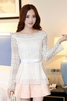 BAJU KOREA ONLINE - PRINCESS LOOK DRESS