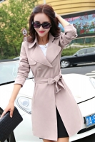 LONG COAT WANITA KOREA - PinkSalem Korean Trench Coat