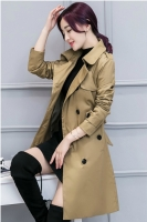 LONG COAT WANITA - Khaki Long Blazer