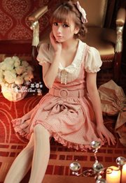 BAJU IMPORT KOREA STYLE - Pink Lolota Dress
