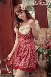 BAJU LOLITA STYLE - Red Lolita Dress