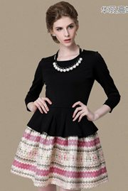 DRESS CANTIK KOREA - Sabby Chic Dress