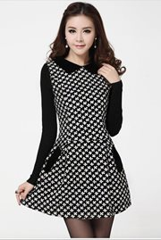 DRESS CANTIK - Everlasting Cotton Long Sleeved Dre