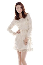 DRESS LACE KOREA - High Quality Lace Dress