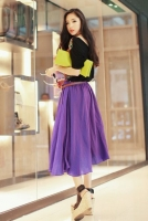 ROK WANITA KOREA - Chiffon Skirt ( 3-color)