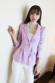 BLAZER WANITA - Purple Chic Woman Blazer