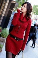 SWEATER WANITA KOREA - High Neck Sweater