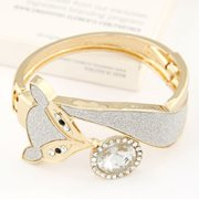 GELANG KOREA - Bangle Diamond Decorated Fox