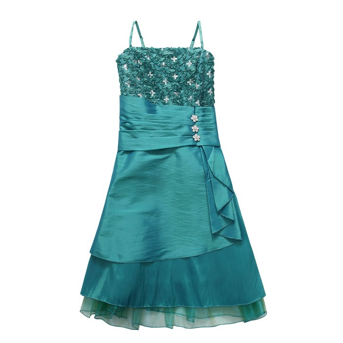BAJU PESTA IMPORT KOREA - DRESS CANTIK KOREA - J9609Green