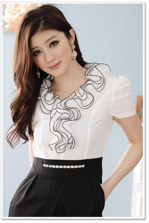BAJU KOREA - DRESS KOREA - J3413White