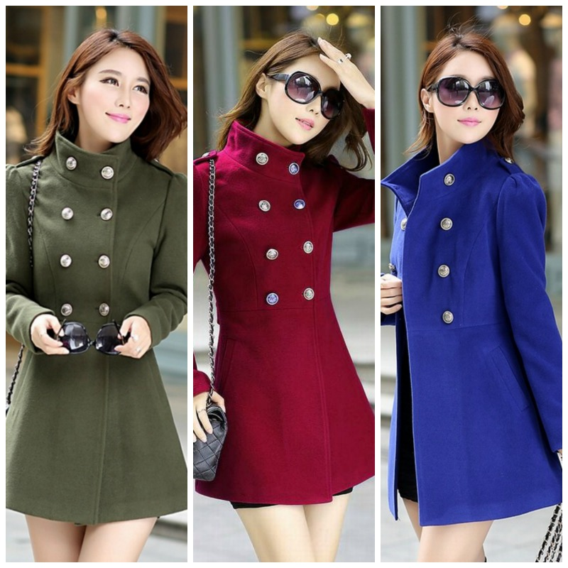 LONG COAT KOREA - BAJU KOREA ASLI - JYR5820