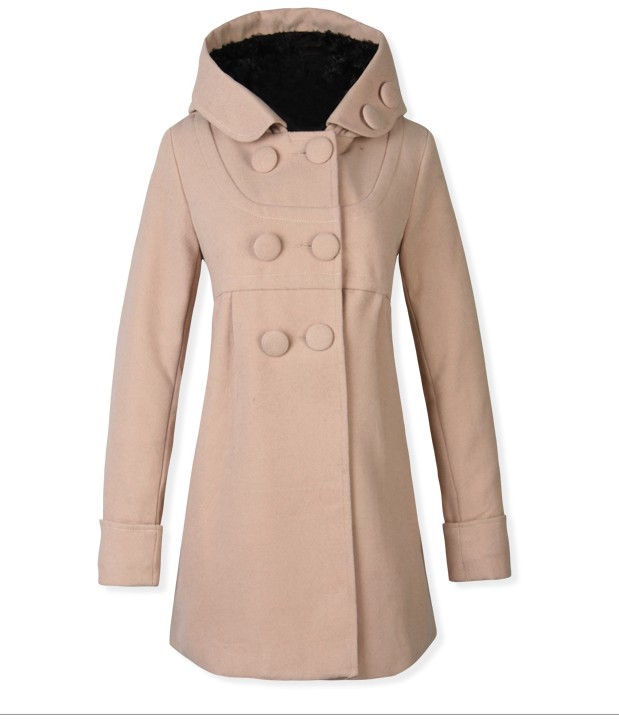 LONG COAT IMPORT KOREA - BAJU KOREA ONLINE - JYW310Khaki